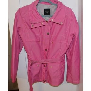 Pink Max Mara Weekend Belted Trench